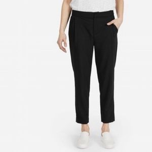Everlane 100 % Wool Black Trousers Size 4